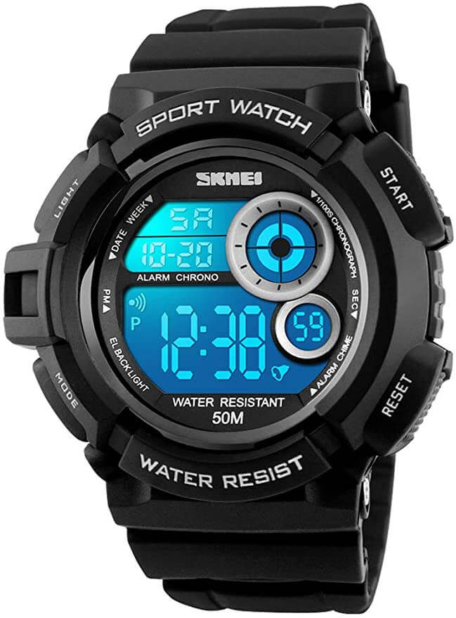 fanmish digital tough watch for construction workers