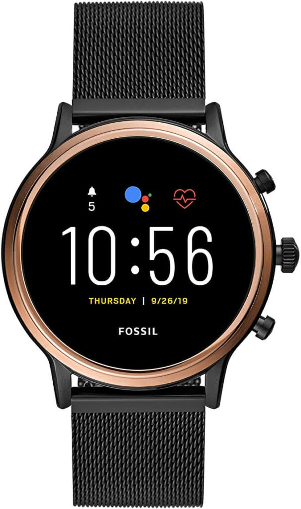 fossil gen 5 smartwatch for texting