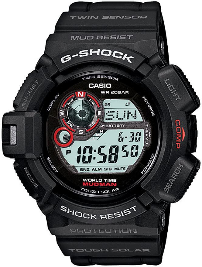 g shock mudman smartwatch for construction workers
