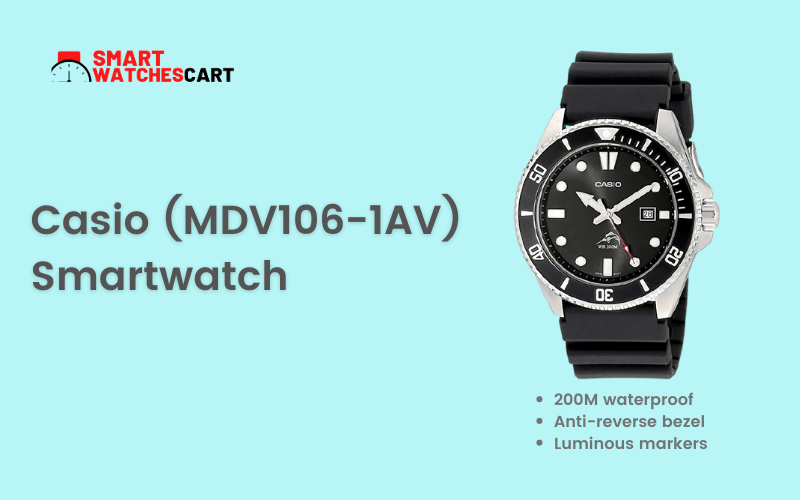 Casio (MDV106-1AV) Smartwatch