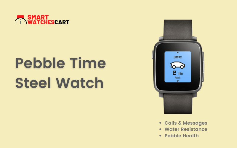 Pebble Time Steel Smartwatch for toddlers