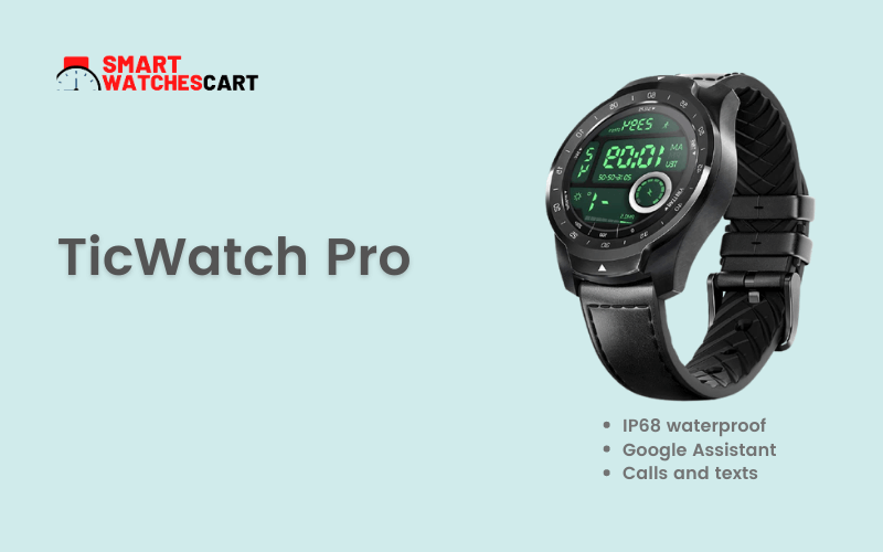 TicWatch Pro Smartwatch for school boys