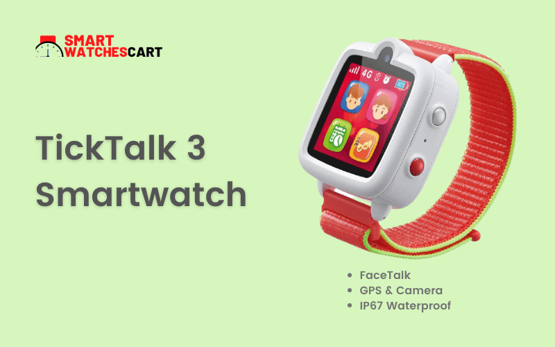 smartwatch for 10 year old kids