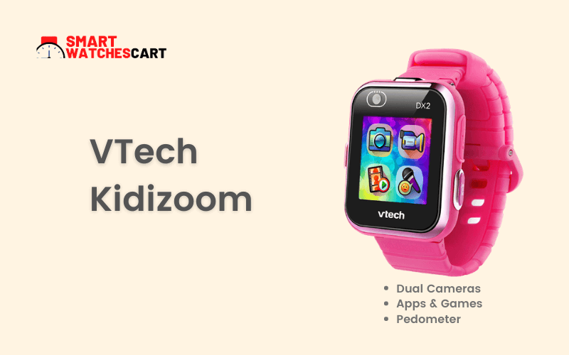 VTech Kidizoom smartwatch for 10 year old