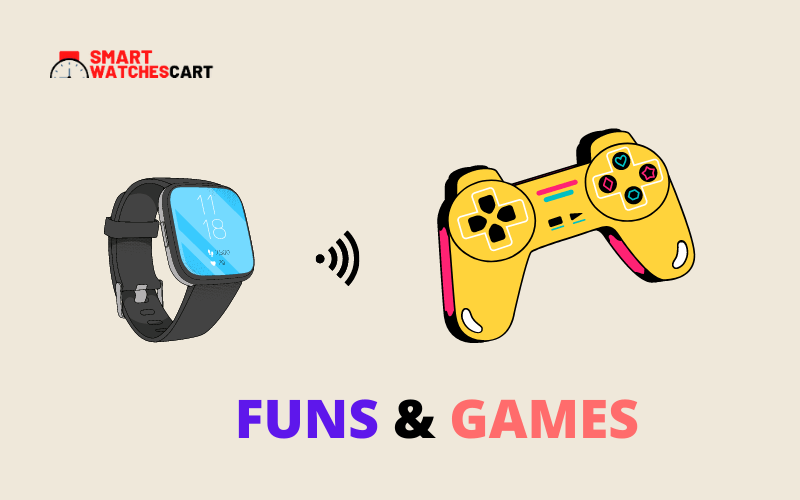 funs and games smartwatch