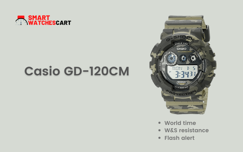 Casio smartwatch for hunting and fishing