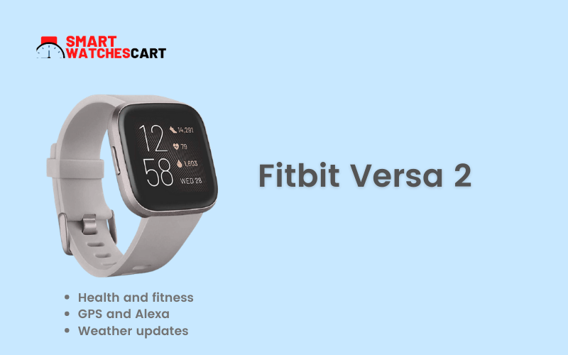 Fitbit smartwatch for hunting