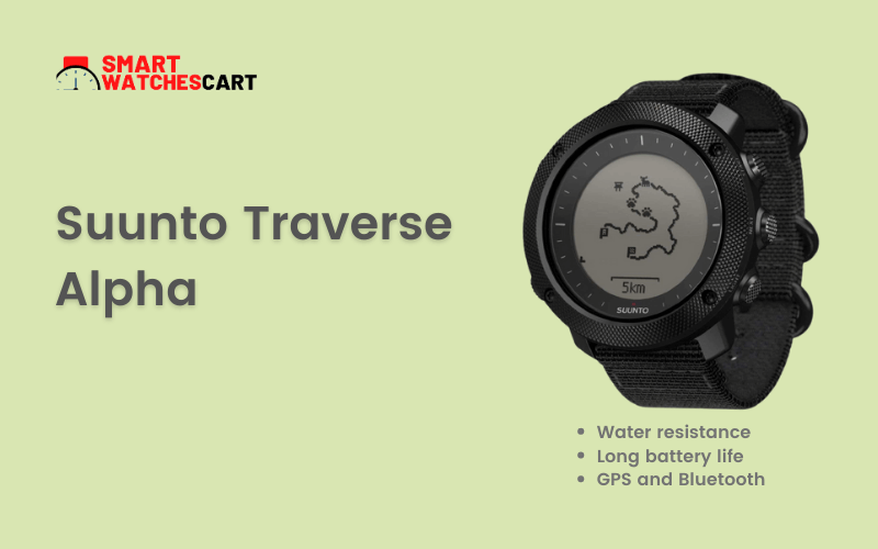 Suunto Traverse Alpha for hunting