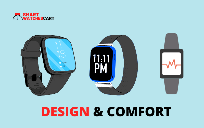 design and comfortable smartwatch