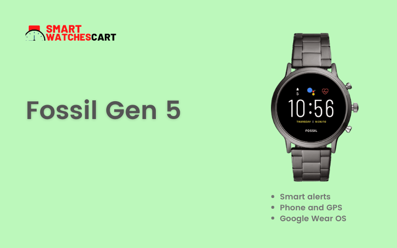 fossil smartwatch for fireman
