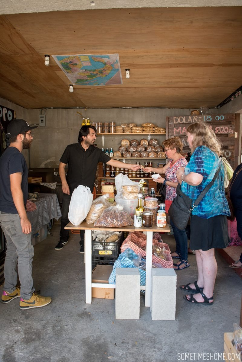 Travel photos and ideas in Tijauna, Mexico with hipster spot Telefonica Gastropark food truck hotspot on Sometimes Home blog. Cheese shop image.