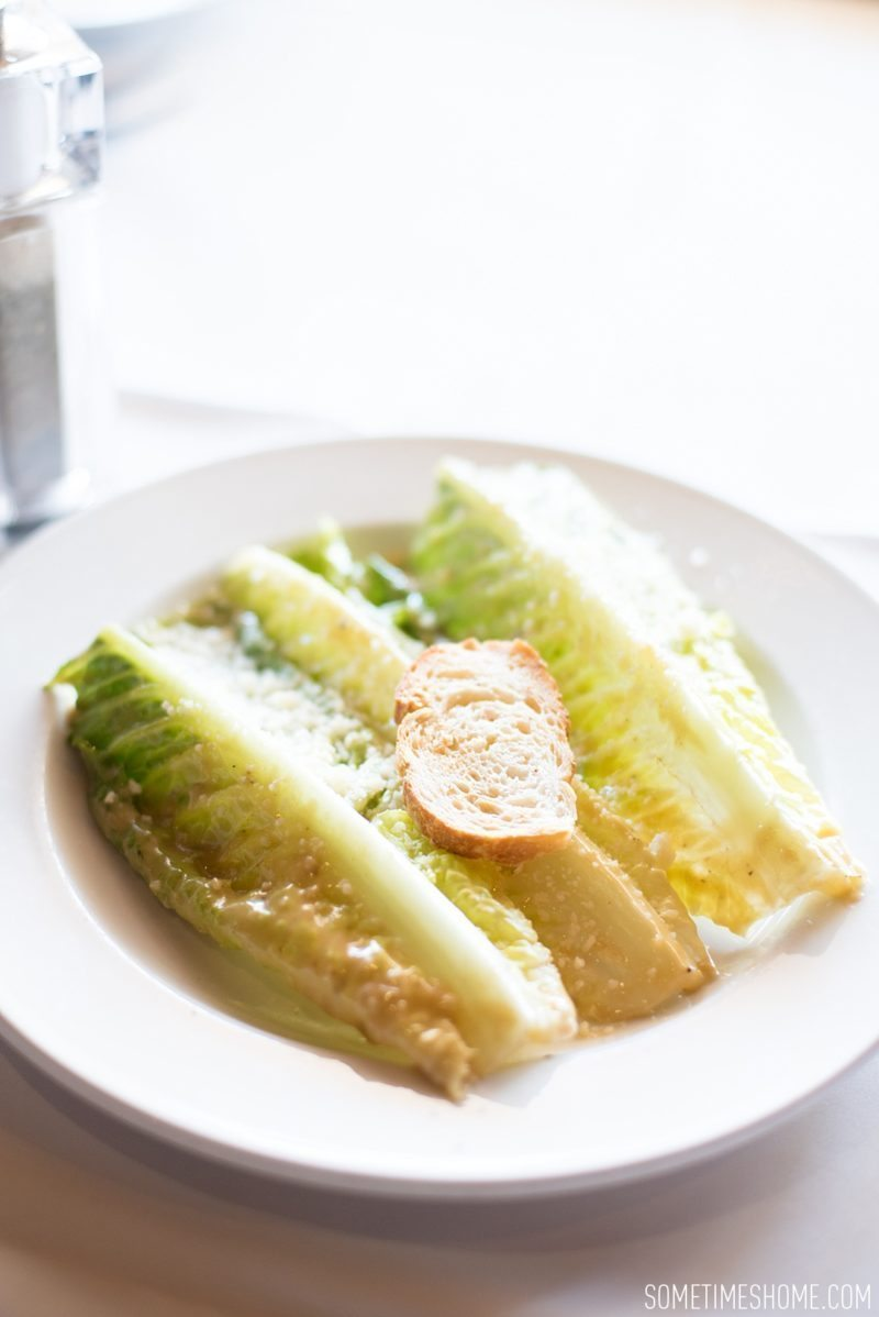 Caesar's Tijuana, inventor of the Caesar salad, photos by Sometimes Home travel blog. Foodie destination in Tijuana, Mexico.