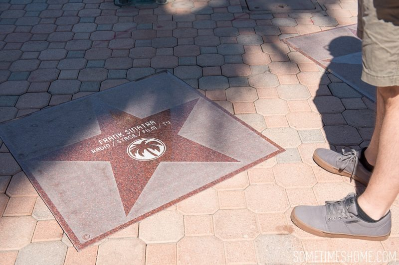 Two days in Palm Springs with photos by Sometimes Home travel blog. Downtown Walk of Fame and additional area attractions.
