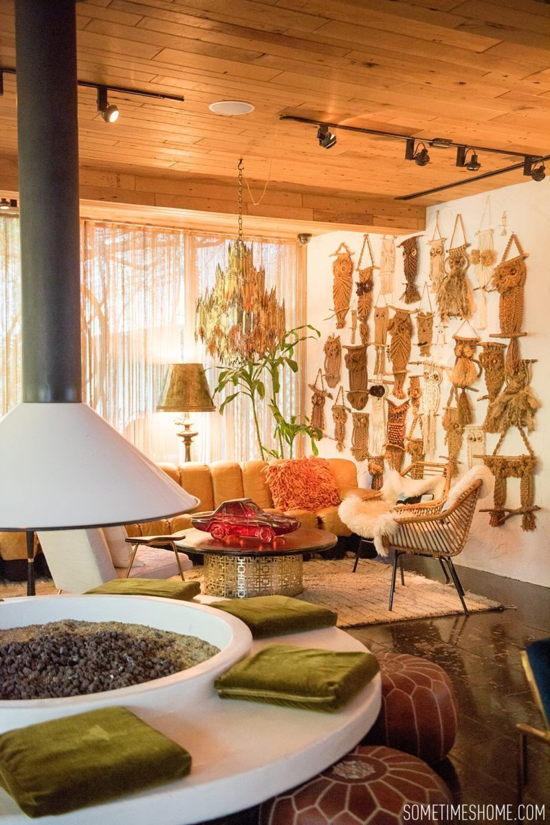 Two days in Palm Springs with photos by Sometimes Home travel blog. Mid-century Modern hotel hopping at The Parker with interior design by Jonathan Adler.