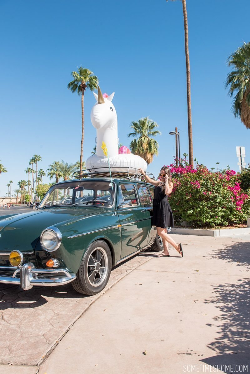 Two days in Palm Springs with photos by Sometimes Home travel blog. Mid-century Modern hotel hopping at The Parker.
