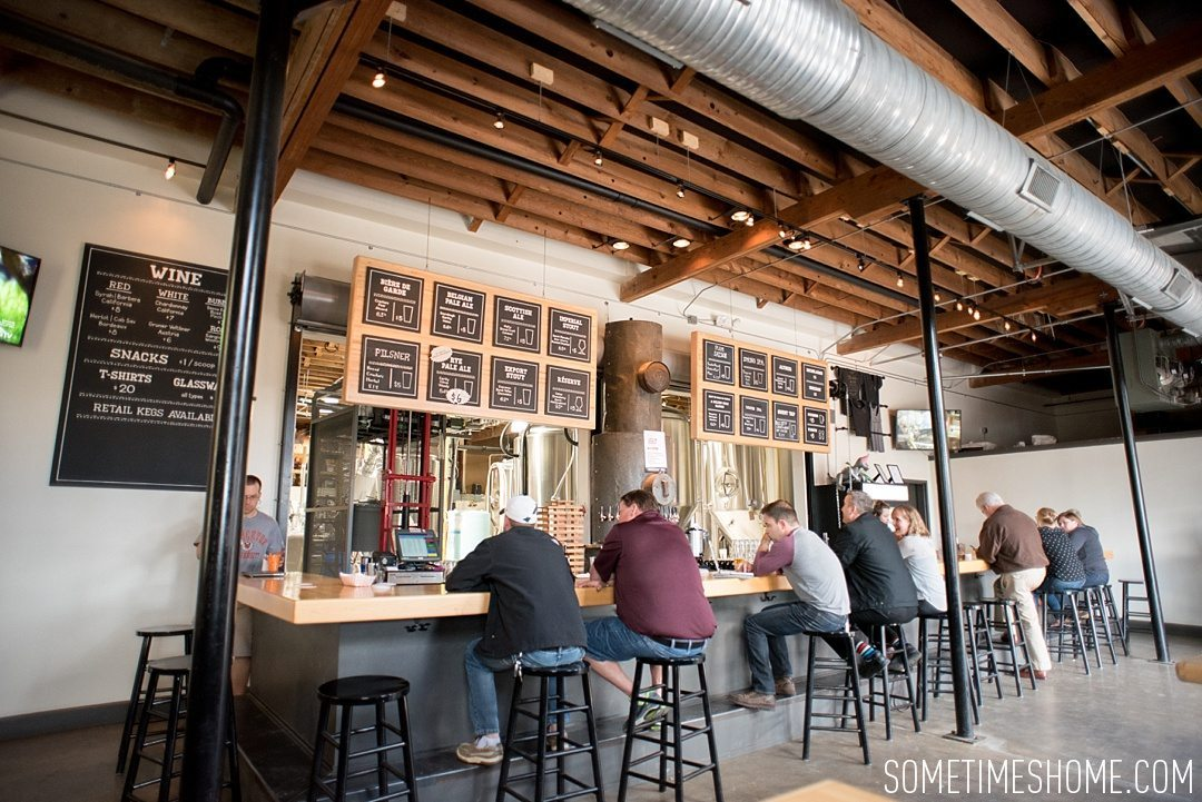 Incredible Downtown Durham Staycation Schedule. Sometimes Home travel advice. Photo of Ponysaurus brewery.
