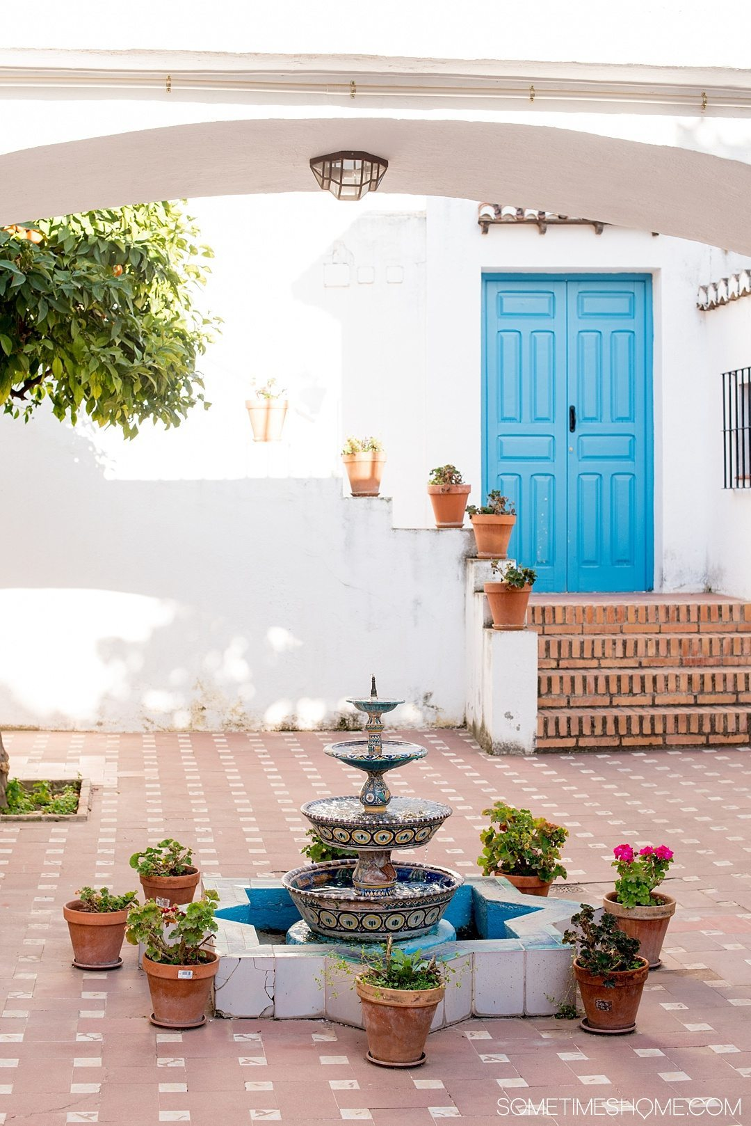 One Perfect Day in Granada Spain. Photos and itinerary on Sometimes Home travel blog. Picture of Casa Museo Max Moreau.