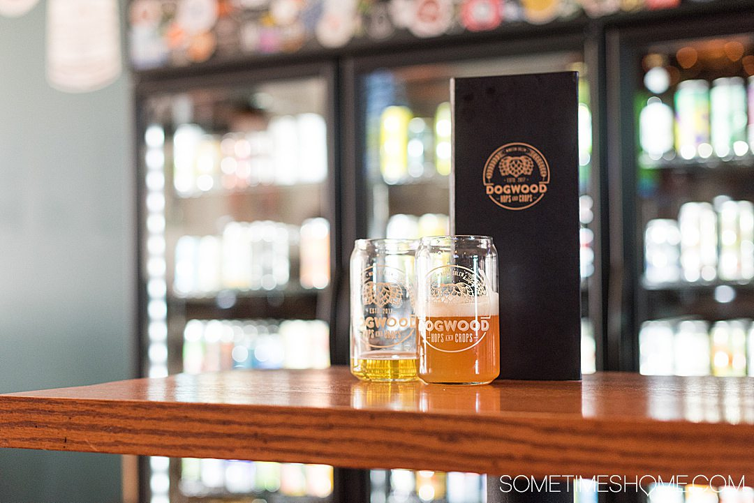 Breweries in Winston-Salem, North Carolina downtown and beyond. Includes brewpubs, craft beer bottle shops and those with restaurants too, including Foothills, Radar, Wise Man, Fiddlin' Fish and more. #breweriesinwinstonsalem #winstonsalem #winstonsalemnorthcarolina #winstonsalemnc #northcarolinabreweries #craftbeer #bottleshops #hyphenhops