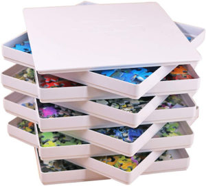 Puzzle Piece Sorting Trays