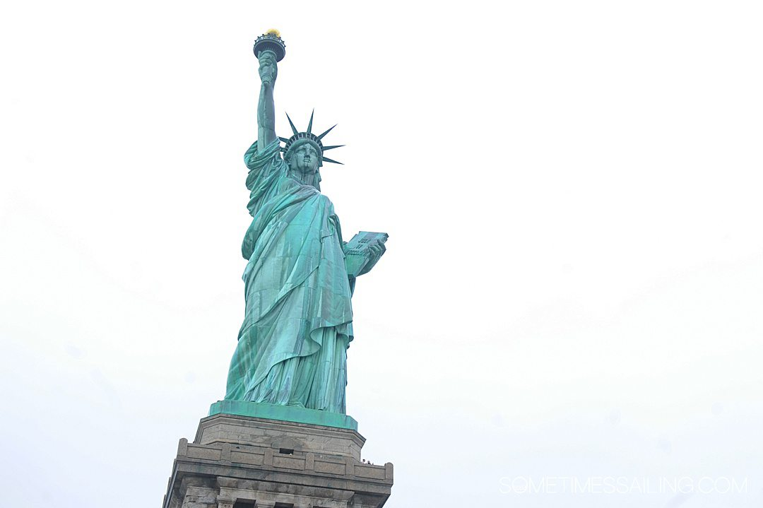 Image of the Statue of Liberty.