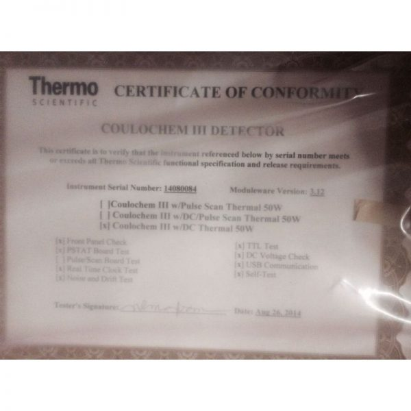 Thermo Dionex Coulochem III 70-9142