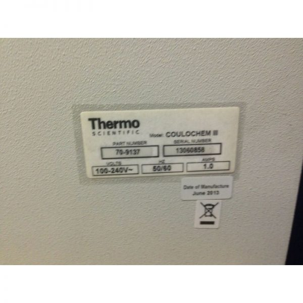 Thermo Dionex Coulochem III Electrochemical Detector 70-9137