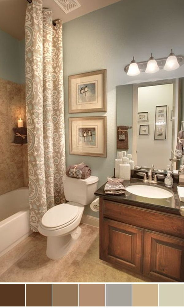 Good Colors For Small Bathrooms