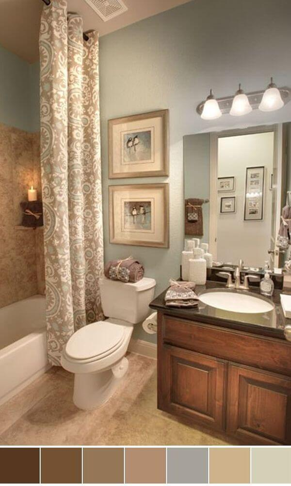 What Colors Are Best In Bathroom