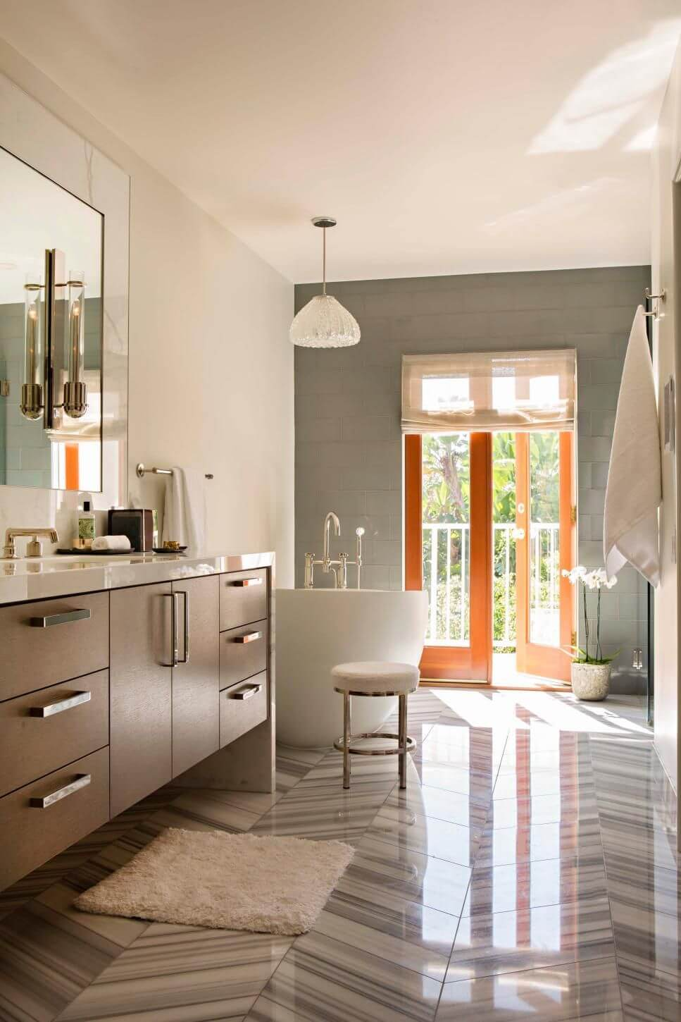 Paint Colors For Bathroom With Grey Vanity