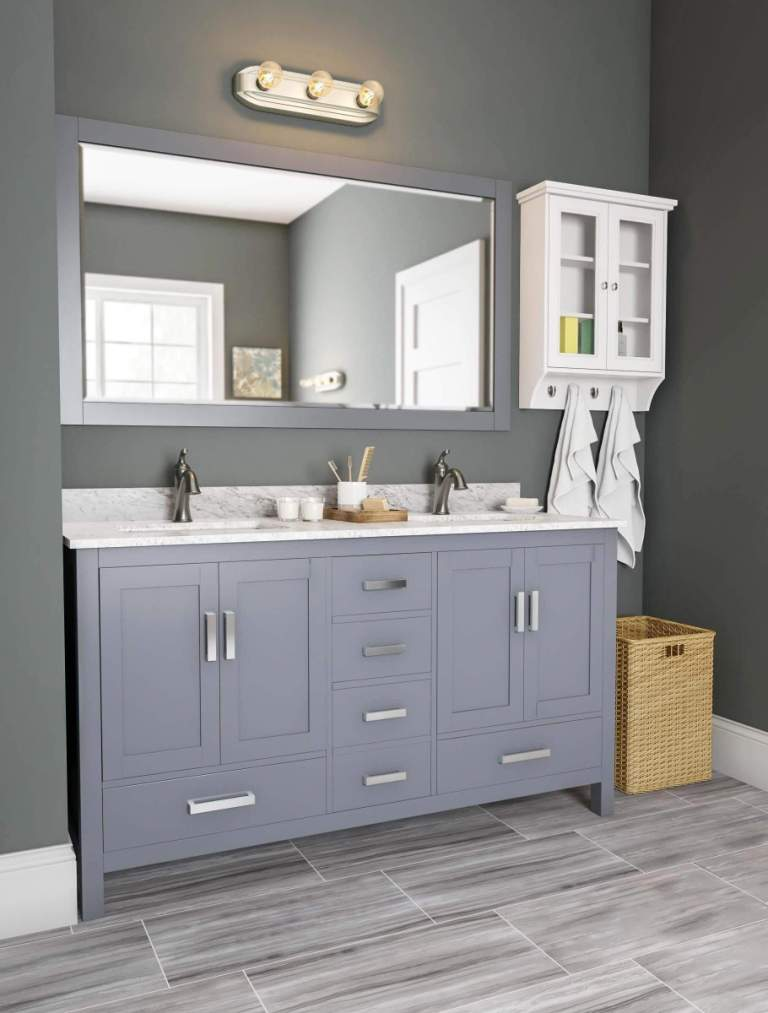Best Paint Colors For Bathroom With Grey Vanity
