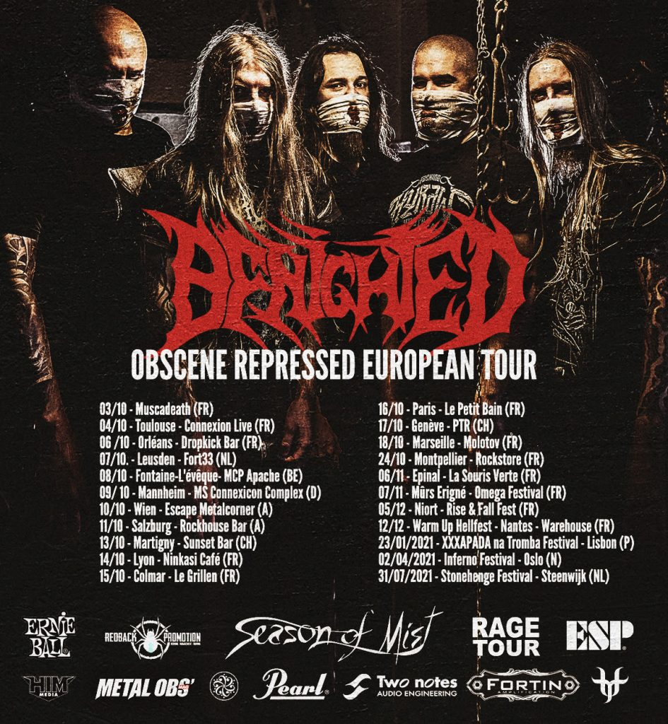 image article [Report] BENIGHTED + SHAÂRGHOT + SVART CROWN, Montpellier le 18/09/2021