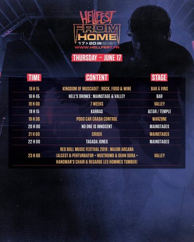 image article HELLFEST FROM HOME : Le programme complet dévoilé !