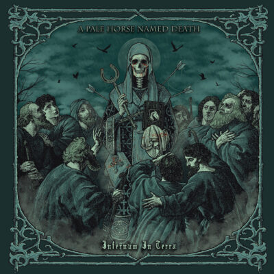 """image article A PALE HORSE NAMED DEATH diffuse le titre """"Reflections Of The Dead"""""""