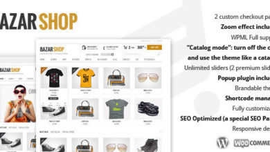 Photo of Bazar Shop 3.6.0 – Multi-Purpose e-Commerce Theme