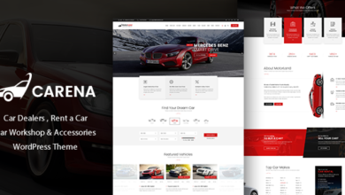 Photo of Carena v2.1 Car Dealer Rental and Automative Theme