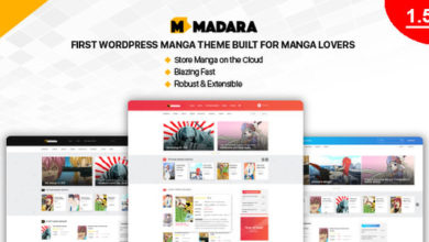 Photo of Madara 1.6.1.1 – WordPress Theme for Manga