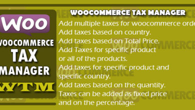 Photo of Woocommerce Tax Manager – WTM v1.1 Free