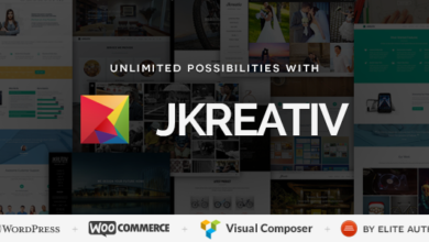 Photo of Jkreativ v2.5.0 – Multilayer Parallax MultiPurpose Theme