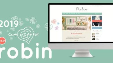 Photo of Robin v5.3.2 – Cute & Colorful Blog Theme