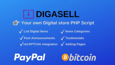 Photo of DigaSell v.1 – Digital store PHP Script