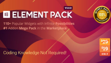Photo of Element Pack 3.1.2 Nulled – Addon for Elementor WordPress Plugin