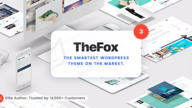 Photo of TheFox 3.6.9 – Responsive Multi-Purpose WordPress Theme