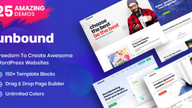 Photo of Unbound v2.0.2 – Business Agency Multipurpose Theme