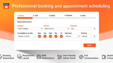 Photo of Bookly Pro 17.1 Appointment Booking and Scheduling Software System