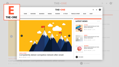 Photo of The One v1.8 – News Magazine Blog WordPress Theme