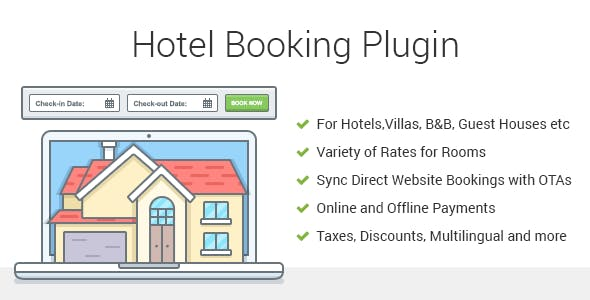hotel booking plugin