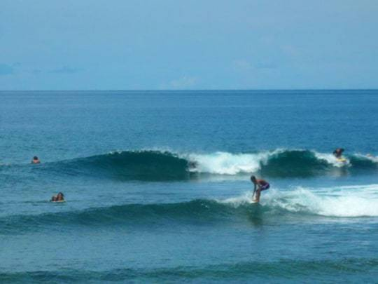 Surfing in Siargao Philippines