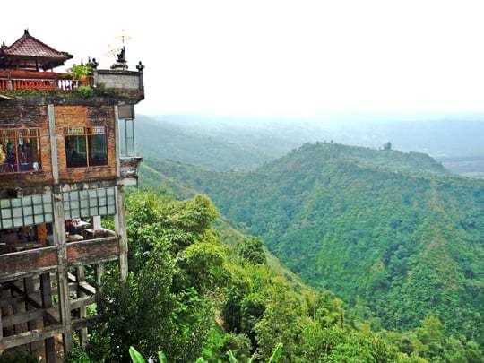 A house with a view in Bali