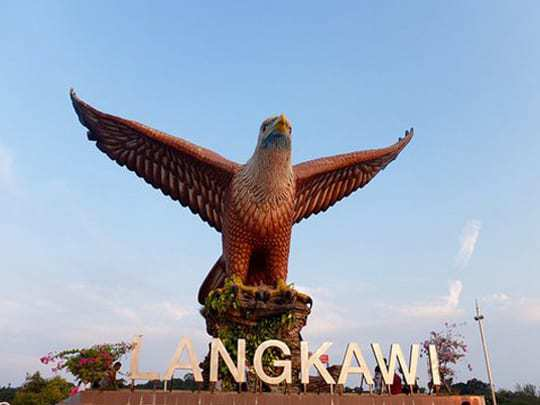 The Statue of an Eagle, The Symbol of Langkawi