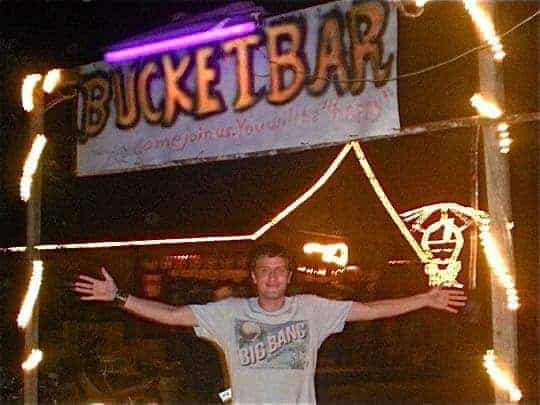 The relocation of the Bucket Bar Vang Vieng